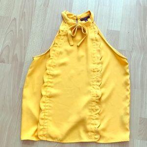 Victoria Beckham for target sleeveless blouse